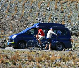 Mountain Biking the Chachani Volcano