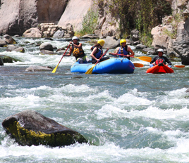 Whitewater Rafting in the Chili River