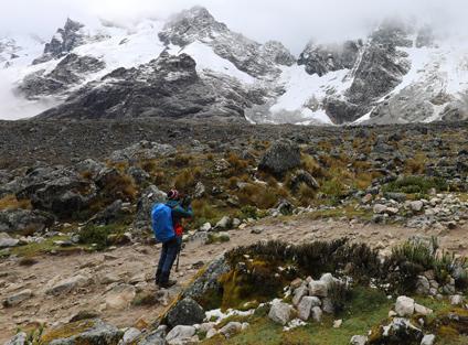 Hiking the Salkantay Trek