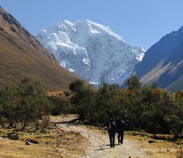 Salkantay Snowy Peak
