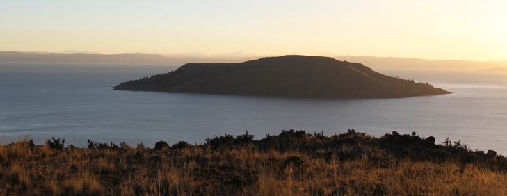 Amantani Island From Llachon Bay, Puno Natural Attractions - My Peru Guide