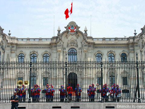 Government Palace, Lima - My Peru Guide