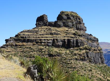 Waqrapukara Inca Site